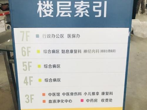 医院标识标牌设计
